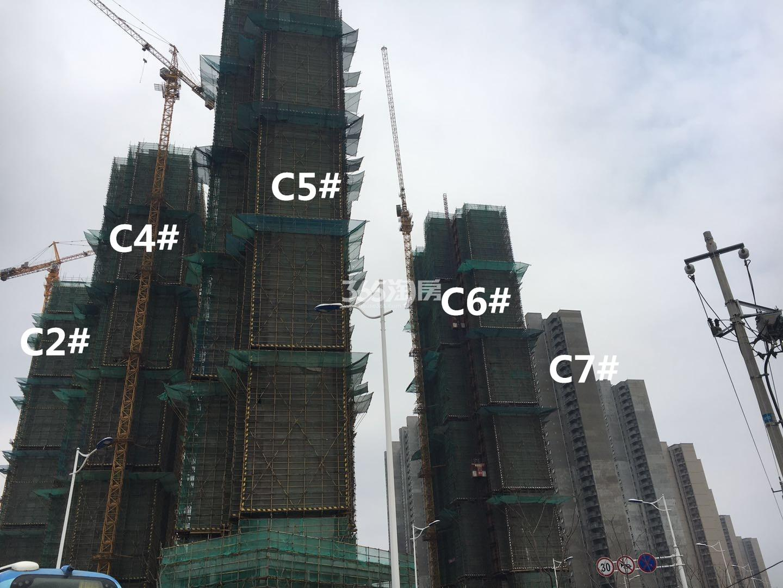 华润国际社区C区高层实景图(3.19)