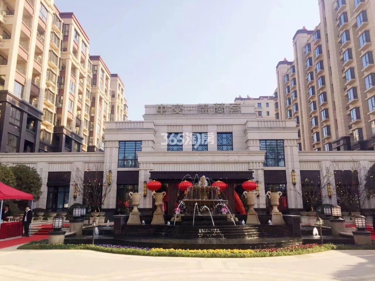 中交锦蘭荟实景图