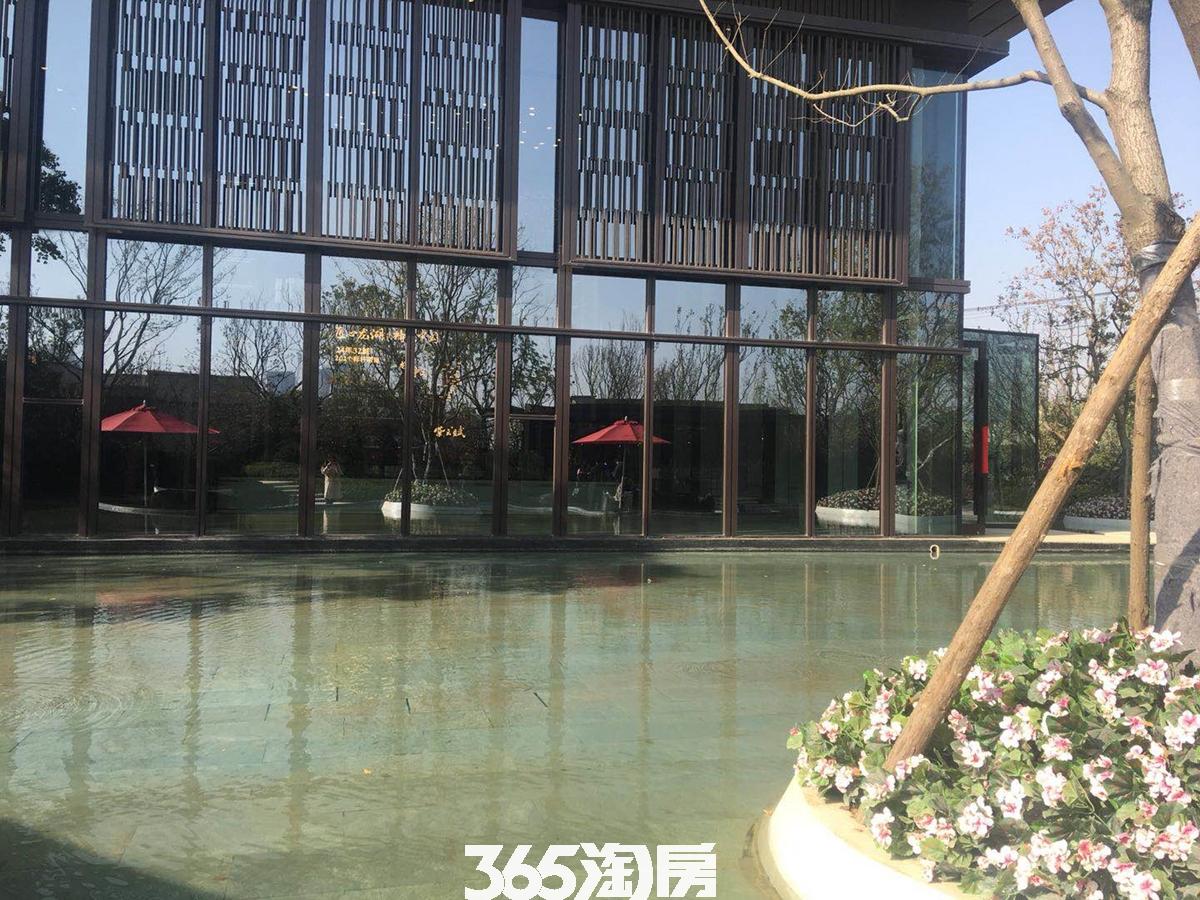 紫云赋售楼部外部环境实景图(2018.5.3)