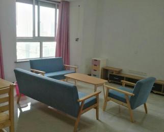 蓝光COCO蜜园3室2厅1卫77平米整租精装