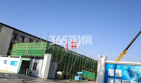 绿地理想城悦湖公馆低密度多层1#楼建至3层(5.3)