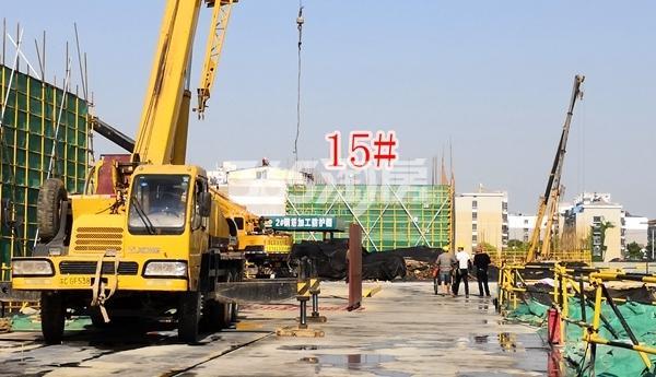 绿地理想城悦湖公馆低密度多层15#楼建至3层(5.3)
