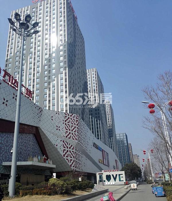 徐州铜山万达广场外部实景图(3.20)