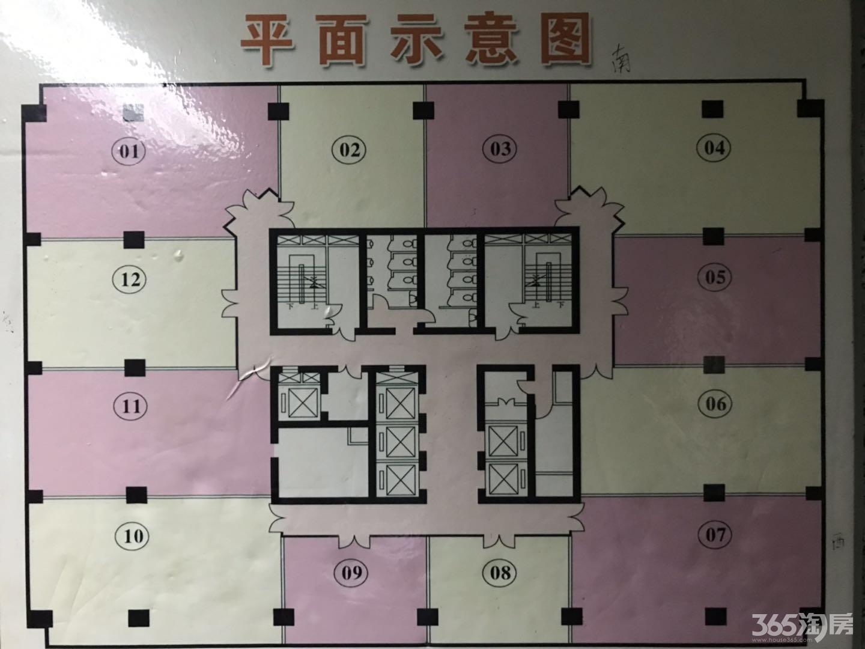 玄武区长江路长江贸易大厦0室0厅户型图