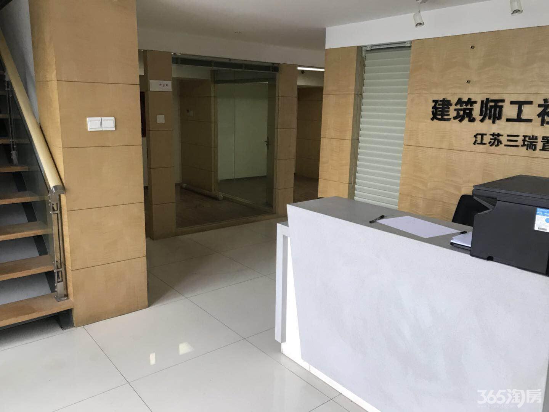 奥体北门建筑师工社190平米挑高精装办公室出租 地铁口