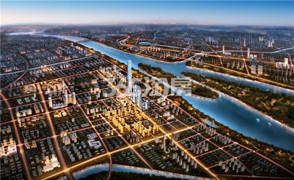 江北核心区效果图