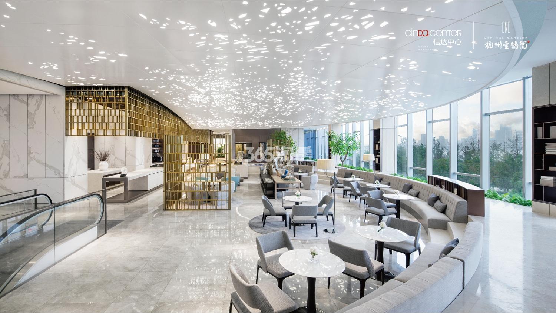 2017.12.7信达中心|杭州壹号院示范区二楼全景