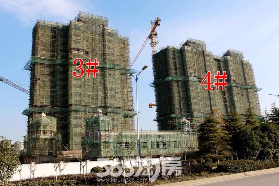 信德悦城3#4#施工中(2017.12摄)