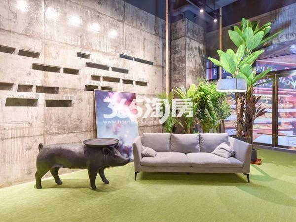 KingMall未来中心售楼部实景(2017.9.29)