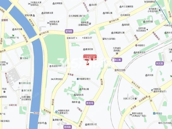 旺海公府交通图