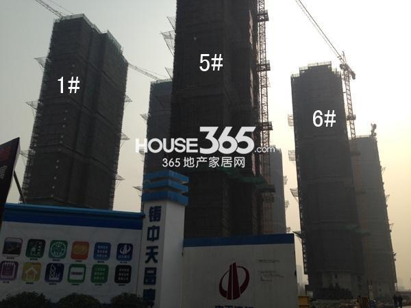 宝龙城市广场1#、5#、6#楼工程进度图(2015.3)