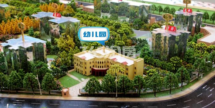 阳光城西西里幼儿园沙盘实景(2017.12.11)