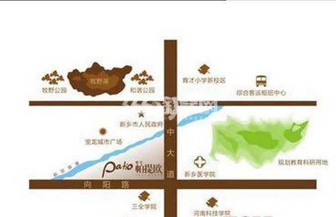 松江帕提欧交通图