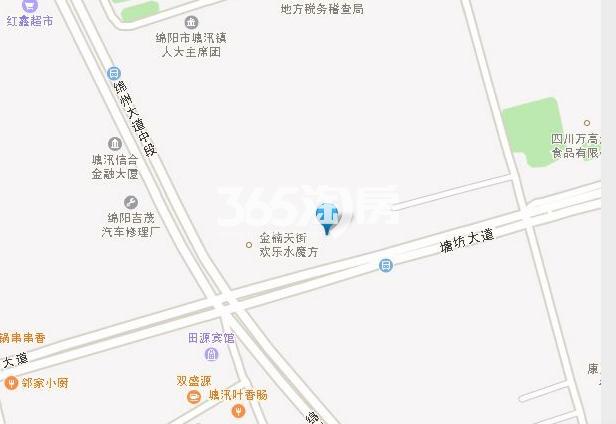 卓信金楠天街·商铺交通图