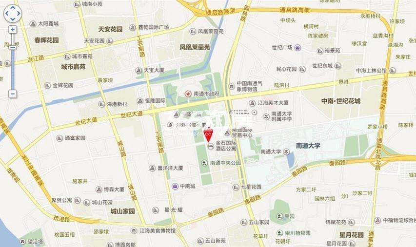 凤凰广场|云中心交通图