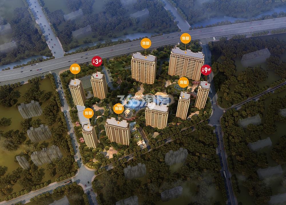 2018年6月21日滨江保利翡翠海岸楼栋状态图