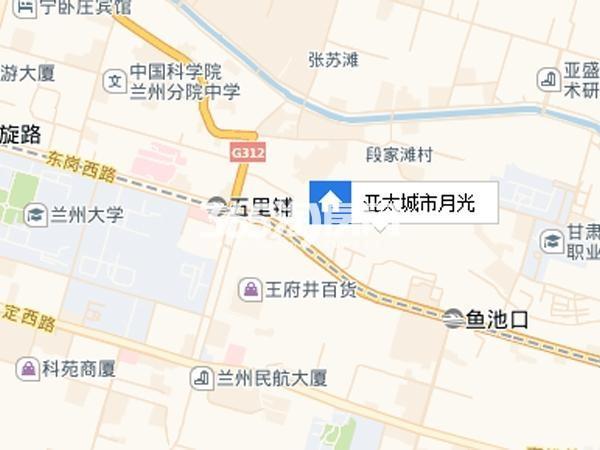亚太城市月光交通图
