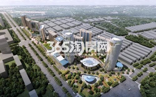 南翔城市广场 俯视图