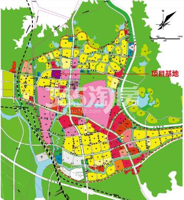 清华府交通图