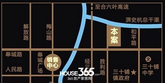 前城紫荆庄园交通图