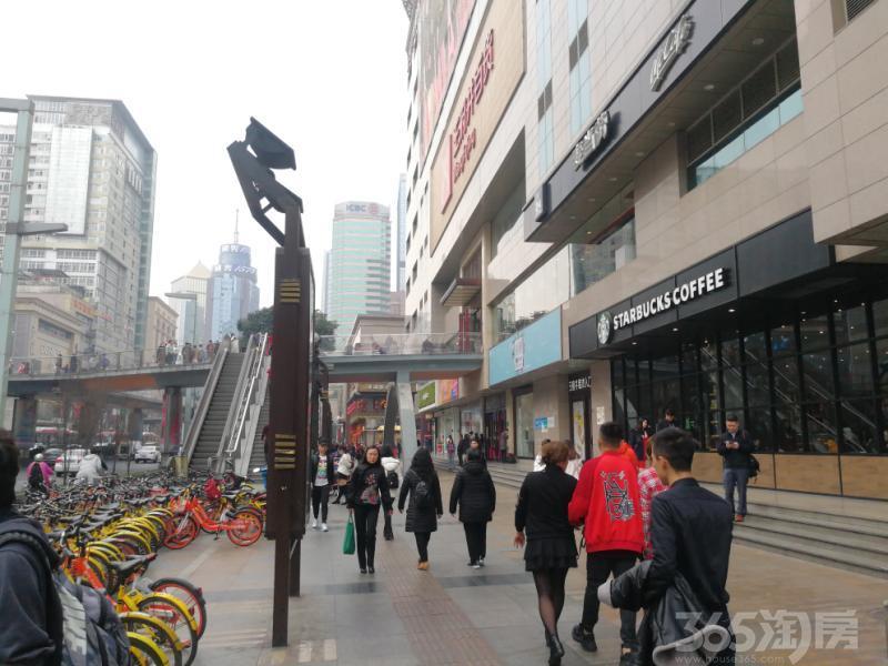 市中心《星巴克,租10年》客流高峰地段,买到必赚!