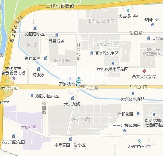 融创御园交通图
