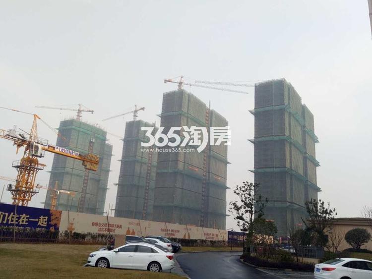翠屏城项目实景图(2.22)