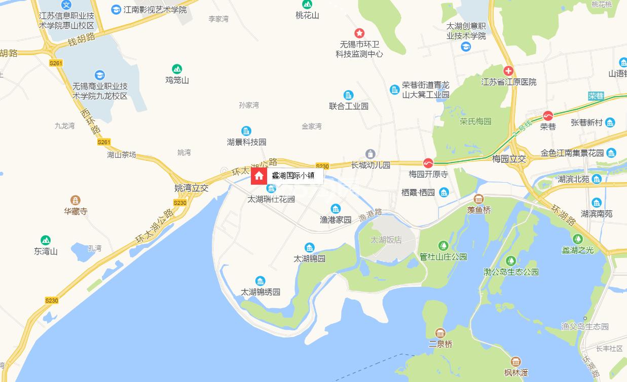 蠡湖国际小镇交通图