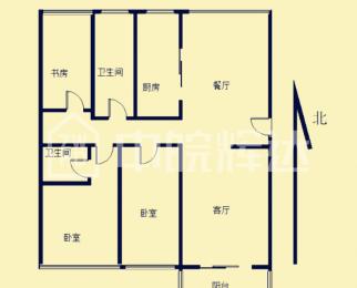 琥珀中村 黄金楼层 三室两厅两卫 精装 琥珀中小学 无税急售