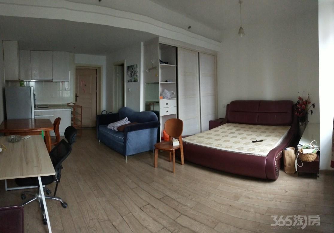 创美华彩国际1室1厅1卫48平米整租精装