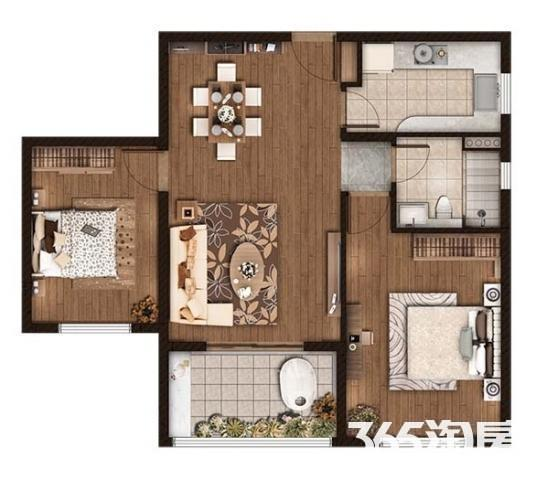 江心洲 仁恒绿洲新岛 精装二房 新空未入 单价低 品质高端 配套全