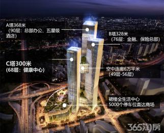 南京向上新高度 河西金鹰世界全球招租 雄鹰展翅笃定河西