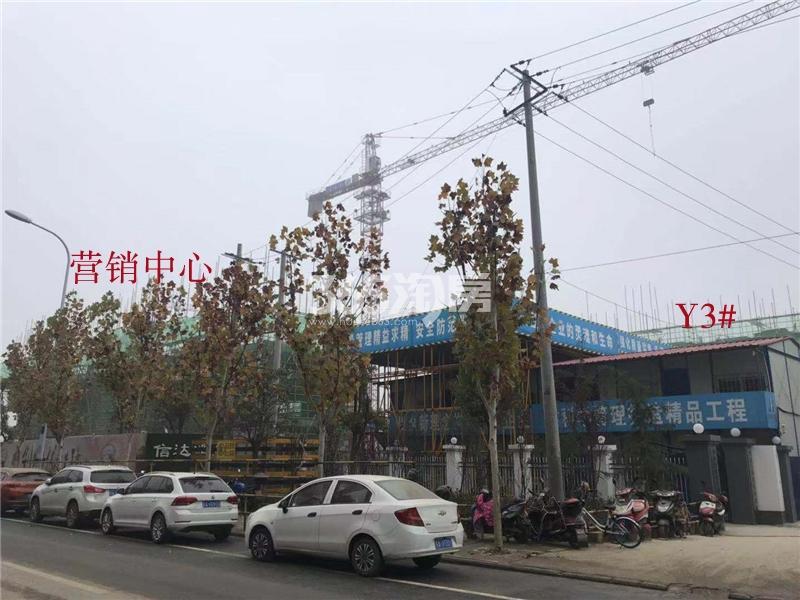 信达溪岸观邸工程进展实景图(2018.12.04)
