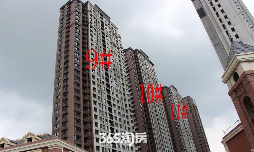 华邦观筑里9、10、11#楼工程进度(2017.8)