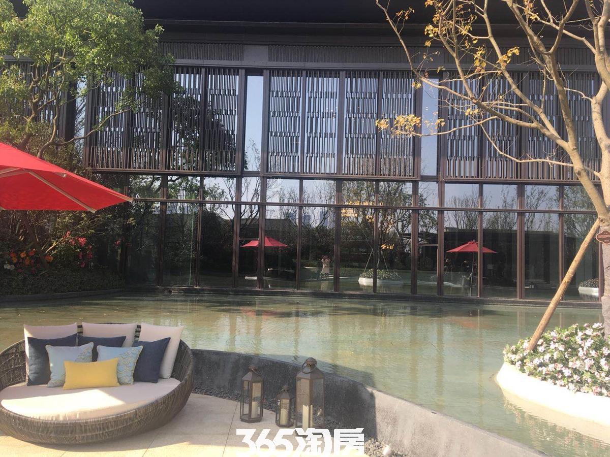 紫云赋售楼部外部环境实景图(2018.3.28)