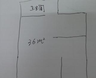 恒大雅苑36平米毛坯整租