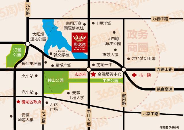 鸿瑞熙龙湾交通图