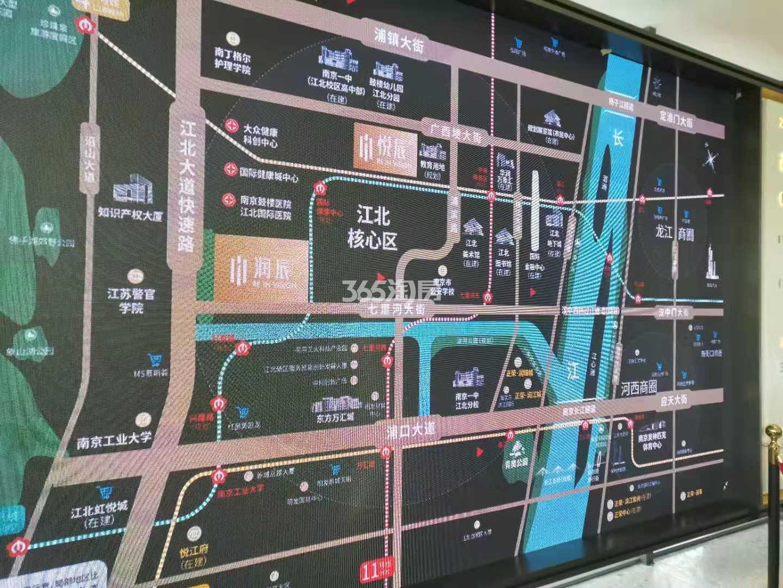 润辰府交通图