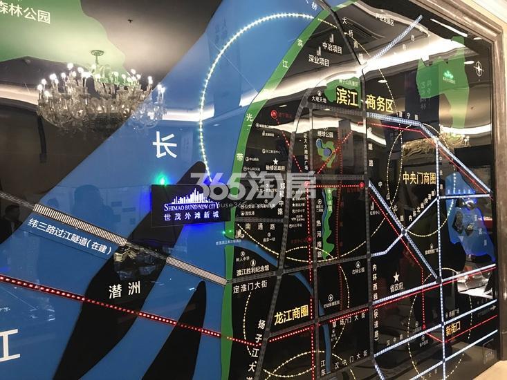 世茂外滩新城项目区位图实景图(3.17)