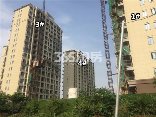 荣盛锦绣澜山楼栋施工进展(6.25)