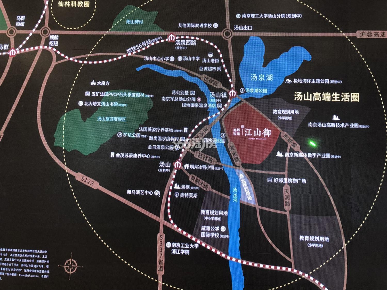 旭辉银城江山御交通图