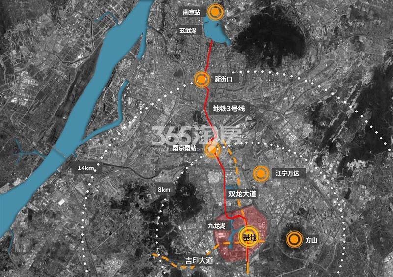 融信城市之窗交通图