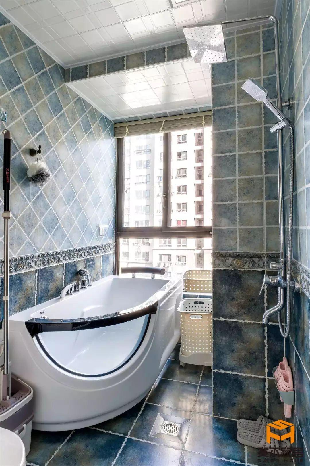 浴室案例 卫生间装修 装修案例