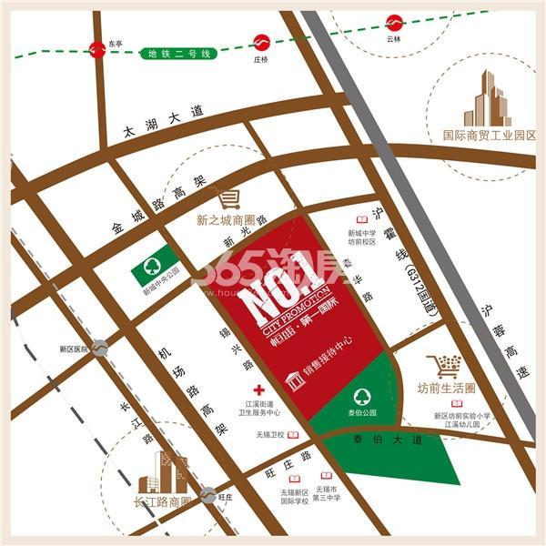 第一国际四期颐园交通图