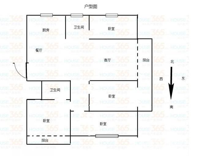 香缇郡4室2厅2卫151万元131平方