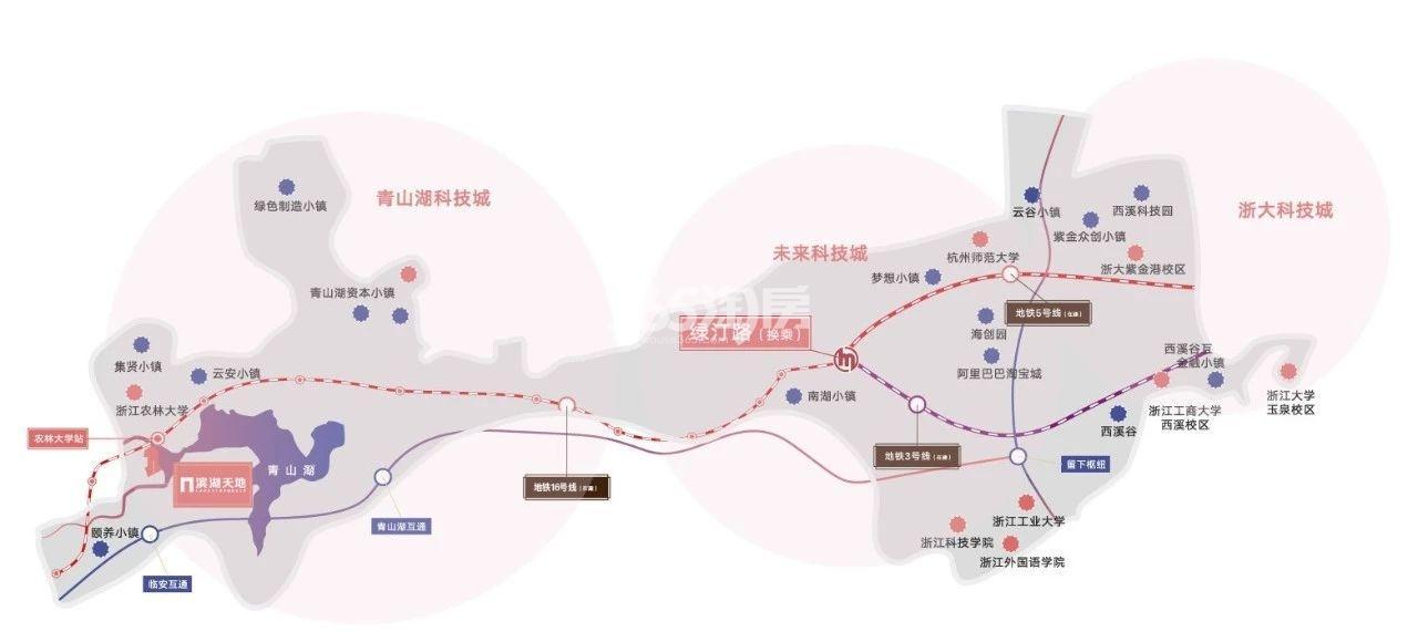 滨湖天地交通图