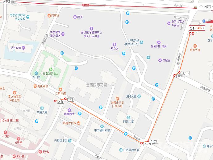 秦淮区新街口华威大厦租房