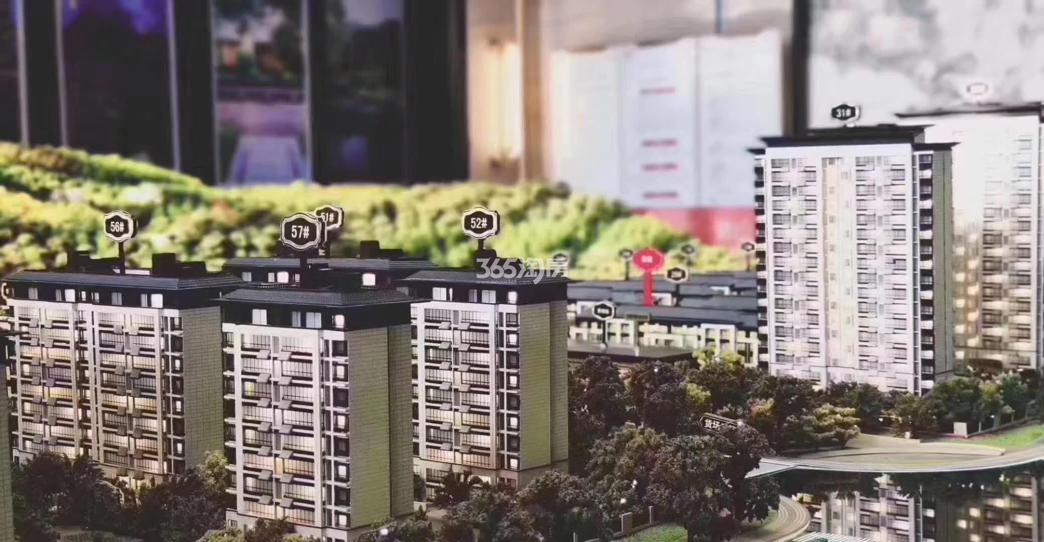 阳光城・麓山悦 沙盘特写实拍 202006