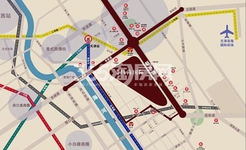 东亚风尚国际交通图