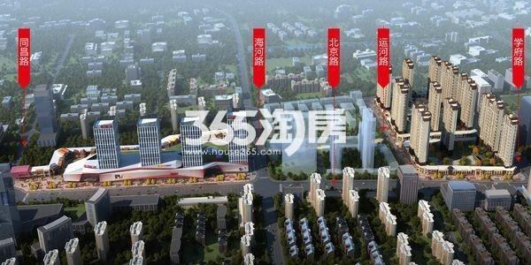 徐州铜山万达广场鸟瞰图